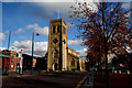SJ9698 : Stalybridge:  Holy Trinity and Christ Church by Dr Neil Clifton