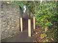 TQ1586 : Footpath from Roxeth Hill to West Hill, Harrow by David Howard