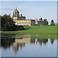 SE7169 : Castle Howard reflected in South Lake by Pauline Eccles