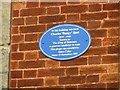 Photo of Charles Heal blue plaque