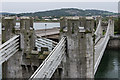 SH7877 : Conwy Suspension Bridge by Ian Capper