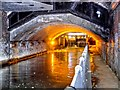 SJ8498 : Rochdale Canal, Tunnel under Piccadilly by David Dixon