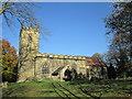 SK3499 : St Peter's Church, Tankersley by John Slater