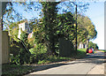 TL3149 : Croydon: Church Lane in November by John Sutton