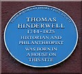 Photo of Thomas Hinderwell blue plaque