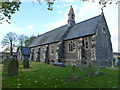 TF4112 : Ancestors in St Paul's churchyard, Gorefield by Richard Humphrey