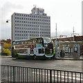 SJ8990 : Wellington Road North Bus Stop by Gerald England