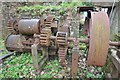 SX0059 : Carbis Brickworks - Clay extruder by Ashley Dace