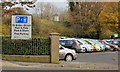 "J4187 : Temporary ""park and ride"" car park, Carrickfergus by Albert Bridge"