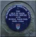 Photo of Old Quaker Meeting House, Scarborough blue plaque