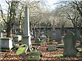SP0588 : Key Hill Cemetery, Hockley: obelisks and other memorials by Robin Stott