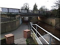 TM3877 : A144 Saxons Way Bridge & Path by Adrian Cable