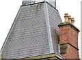 J3372 : Chimney and chimney pots, Methodist College, Belfast by Albert Bridge