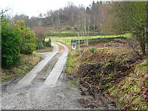 SE0023 : Driveway to New Lane off Cragg Road by Humphrey Bolton
