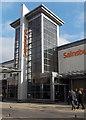 SU3913 : Sainsbury's tower, Shirley, Southampton by Jaggery