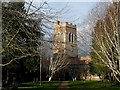 TL1442 : All Saints' church Southill by Bikeboy