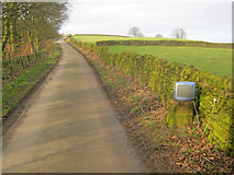 SK2369 : Poor reception on Handley Lane by Trevor Rickard