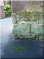 SO7193 : OS benchmark - Bridgnorth, St Leonard's church by Richard Law