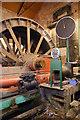 SK4964 : Pleasley Colliery - Markham steam winder by Chris Allen