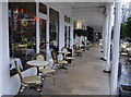 TQ5838 : Colonnade, the Tunbridge Wells Hotel by Ian Taylor