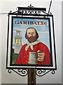 SU9086 : Pub sign: The Garibaldi, Bourne End by Stefan Czapski
