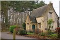 SK5374 : Lodge on Crags Road by Peter Barr