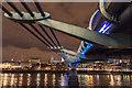 TQ3280 : Under the Millennium Bridge, London, SE1 : Week 3
