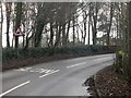Dist:0.3km<br/>A sharp bend on the B6355 which runs between Eyemouth and Ayton.