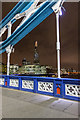 TQ3380 : Ironwork on Tower Bridge, London SE1 by Christine Matthews