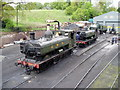 SO7192 : Bridgnorth Railway Station Yard and Shed by Peter Holmes