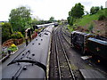 SO7192 : South end of platform 1, Bridgnorth Railway Station by Peter Holmes