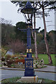 SH7883 : Lamp post at Happy Valley, Llandudno by Ian S