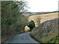 SU7988 : Steep hill on lane by Robin Webster