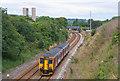 SW9752 : Train passing Crugwallins by Wayland Smith