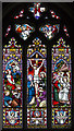 TF8044 : East Window, St Mary's church, Burnham Deepdale by J.Hannan-Briggs