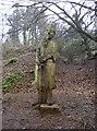 ST5655 : Knightly figure by Neil Owen