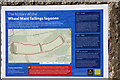 SW7442 : Sign Wheal Maid tailings Lagoon by Graham Loveland