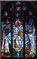 TQ7444 : East Window, St Michael's church, Marden by Julian P Guffogg