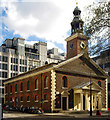 TQ2881 : St Peter's Church, Vere Street by Julian Osley