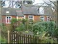 TQ1567 : House alongside Church Walk by Marathon