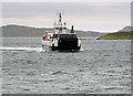 NF7203 : Calmac ferry approaching Barra by William Starkey