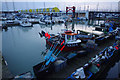 TQ3402 : Fishing boat, Brighton Marina by Ian Taylor
