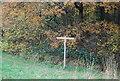 SU8827 : Footpath / bridleway junction by N Chadwick