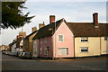 TL2352 : Gamlingay - corner of Church Street & Stocks Lane by David Kemp