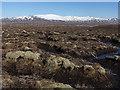 NN3662 : Peat bog west of the Allt na Caim by William Starkey