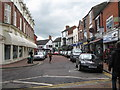 SJ6552 : Pillory Street baroque-Nantwich, Cheshire by Martin Richard Phelan