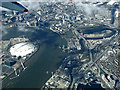 TQ4080 : Leamouth and the Thames from the air by Thomas Nugent
