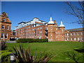 TG2207 : Part of the old Norfolk and Norwich Hospital by Richard Humphrey