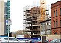 "J3374 : Block ""B"", University of Ulster site, Belfast - March 2014(1) by Albert Bridge"