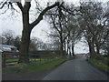 SJ8868 : Shellow Lane at Shellow Farm by Colin Pyle